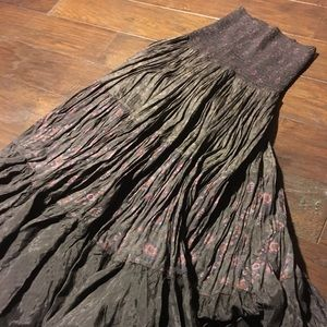 Free people full circular skirt